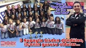 Bahçelievler Voleybol Kulübü, İstanbul Şampiyonası'na damga vurdu
