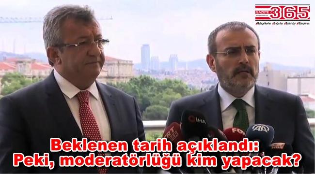 Binali Yıldırım ile Ekrem İmamoğlu'nun ortak yayınının tarihi açıklandı