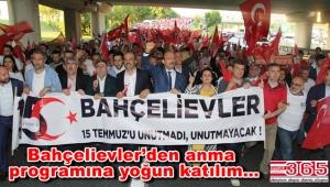 AK Parti Bahçelievler Teşkilatı binlerce kişiyle bir kez daha aynı yere gitti