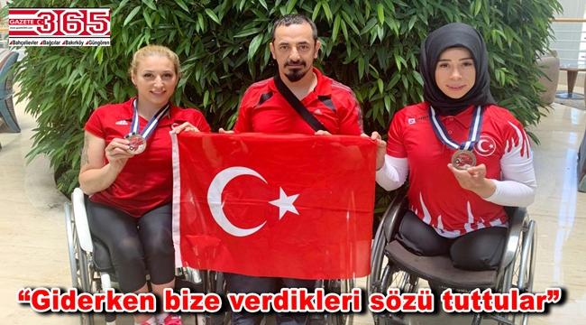 Altın Kızlar Tunus'tan 5 altın 3 gümüş madalyayla döndü