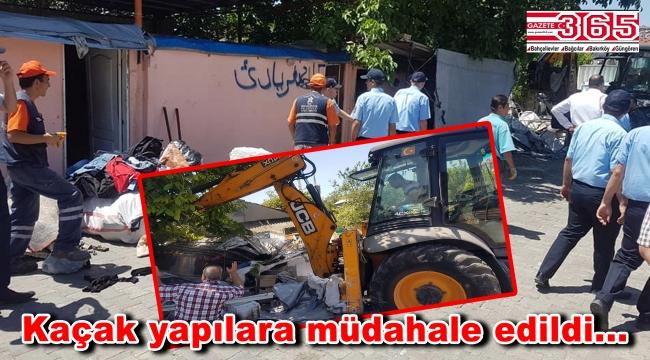 Bahçelievler'de hurdacı ve kağıt toplayıcılara operasyon yapıldı