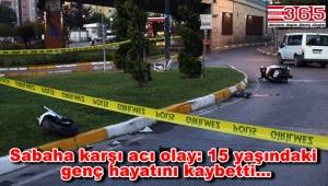 Bahçelievler'de motosiklet kazası! 1 ölü, 1 yaralı