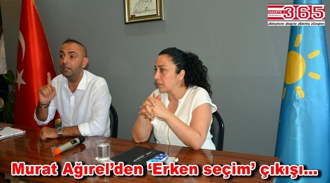Gazeteci-Yazar Murat Ağırel İYİ Parti Bahçelievler Teşkilatı ile buluştu
