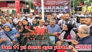 Güngören'deki patlamada şehit olan vatandaşlar anıldı
