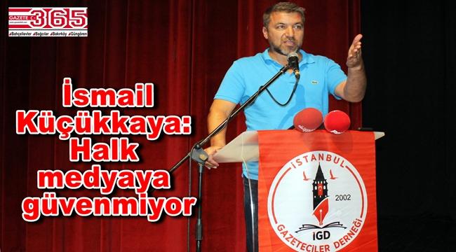 İstanbul Gazeteciler Derneği İsmail Küçükkaya'yı ağırladı