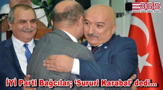 İYİ Parti Bağcılar İlçe Başkanlığı'na Sururi Karabal seçildi