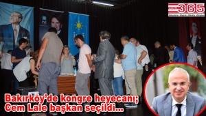 İYİ Parti Bakırköy İlçe Başkanlığı'na Cem Lale seçildi