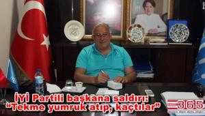 İYİ Parti Güngören İlçe Başkanı Ayhan Kurt'a saldırı…