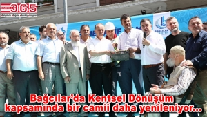 Bağcılar Mehmet Akif Camii'nin temeli atıldı
