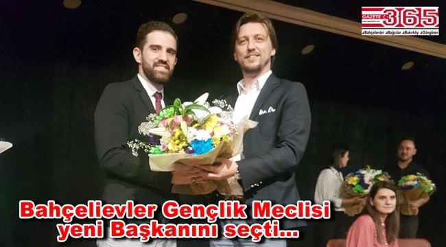 Bahçelievler Gençlik Meclisi Başkanlığı'na Furkan Şentürk seçildi