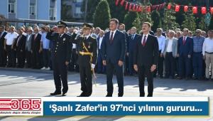 Büyük Zafer'in 97'nci yılı törenlerle kutlandı