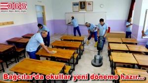 Bağcılar'daki okullarda yeni eğitim döneminin hazırlıkları tamamlandı