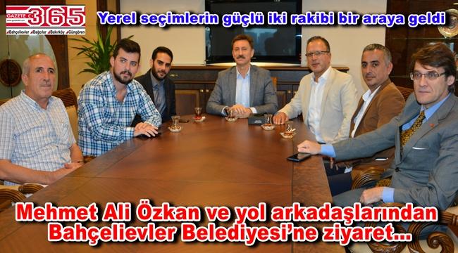 CHP'li Mehmet Ali Özkan, Başkan Hakan Bahadır'ı ziyaret etti
