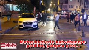 Güngören'de kahvehaneye saldırı: 3 yaralı