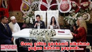 Mustafa Akbaba kızını evlendirdi
