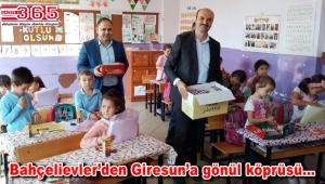 AK Parti Bahçelievler Teşkilatı, Giresun'daki öğrencilerin yüzünü güldürdü