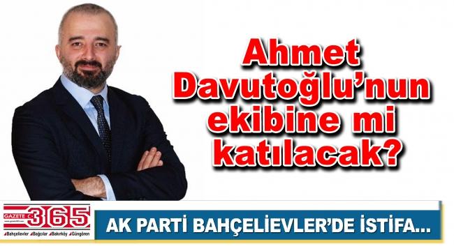 AK Parti Bahçelievler İlçe Başkan Yardımcısı Özer Öztaşbaşı istifa etti!