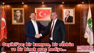 Bahçelievler Belediyesi ile Geyikli Belde Belediyesi 'Kardeşlik Protokolü' imzalandı