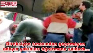 Bahçelievler'de sürücü kursu öğretmenine saldırı!