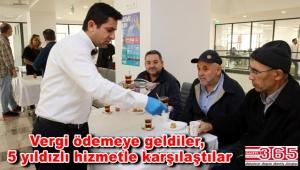 Güngören Belediyesi'nden vergi ödeyecek vatandaşlara özel hizmet…