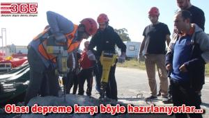 Güngören Belediyesi personeline deprem eğitimi verildi