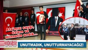 Ulu Önder Gazi Mustafa Kemal Atatürk, vefatının 81. yılında özlemle anıldı