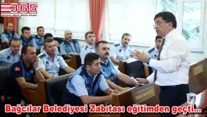Zabıta teşkilatında çalışan personele hizmet içi eğitim verildi