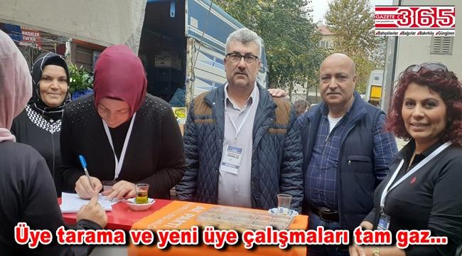 AK Parti Bahçelievler Teşkilatı, 'üye' çalışmalarını sürdürüyor
