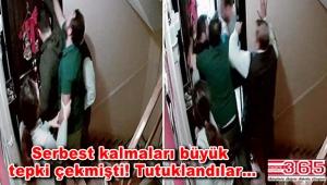 Bakırköy'de komşularına saldıran baba ile 2 oğlu tutuklandı