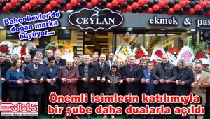 Ceylan Fırın&Kafe'nin 5'inci şubesi hizmete açıldı
