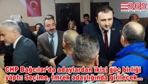 CHP Bağcılar'da adaylardan; Cem Kılıç ve Murat İmrek birleşti