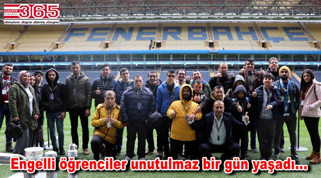 Fenerbahçe Spor Kulübü, Bağcılarlı engellileri ağırladı