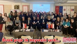 İşte Kadın Derneği'nin projesi meyvesini verdi: 100 kadın kendi işini kuracak!