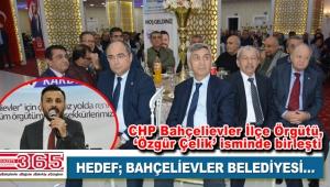 Özgür Çelik, yeniden aday: Birlikte CHP'yi Bahçelievler'de iktidar yapacağız!