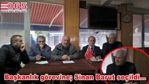 Trabzon Of Hayrat Aydınöz Derneği'nin Başkanı Sinan Barut oldu