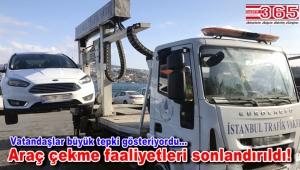 Valilik duyurdu: İstanbul Trafik Vakfı artık araç çekemeyecek!