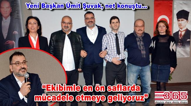 Vatan Partisi Bahçelievler İlçe Başkanlığı'na Mehmet Ümit Şuvak seçildi