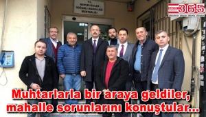 AK Parti Bahçelievler'den muhtarlara ziyaret…