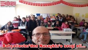 AK Parti Bahçelievler Teşkilatı, bu kez Mardin'deki öğrencileri sevindirdi