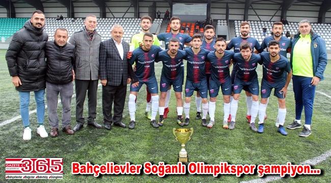 Bahçelievler Soğanlı Olimpik Spor Kulübü, Süper Amatör Lig'e yükseldi