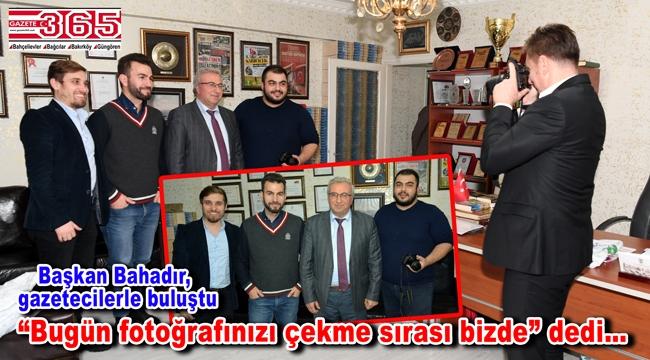 Belediye Başkanı Hakan Bahadır, Gazeteciler Günü'müzü kutladı