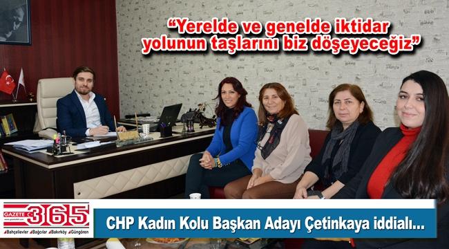 CHP Bahçelievler Kadın Kolu Başkan Adayı Semiha Çetinkaya, Gazete 365'i ziyaret etti