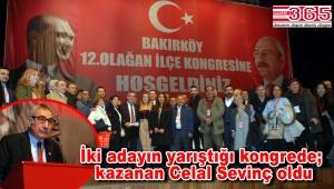 CHP Bakırköy İlçe Başkanlığı'na Av. Celal Sevinç seçildi