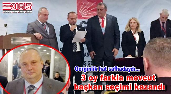CHP Güngören İlçe Başkanlığı'na tekrar Temel Akkoç seçildi