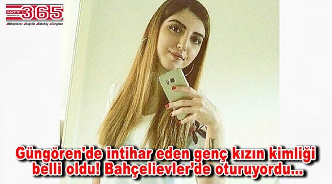 Güngören'de intihar eden Bahçelievlerli genç kız son yolculuğuna uğurlandı