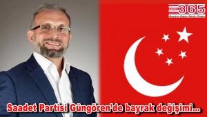 Saadet Partisi Güngören İlçe Başkanlığı görevi Muhammed Resuloğlu'na teslim