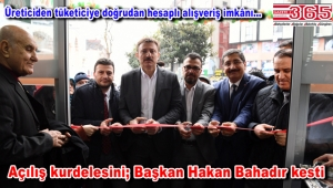 Tarım Kredi Kooperatifi Marketi'nin Bahçelievler'deki ilk şubesi açıldı