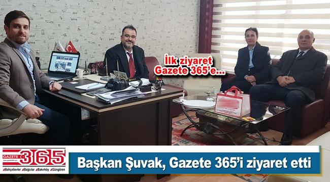Vatan Partisi Bahçelievler, Gazete 365'e ziyaret gerçekleştirdi