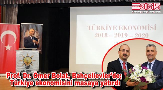 AK Parti Bahçelievler, 'Türk Ekonomisinin Dünü Bugünü' konulu seminer düzenledi