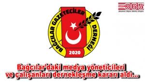 Bağcılar Gazeteciler Derneği'nin kuruluşu için düğmeye basıldı